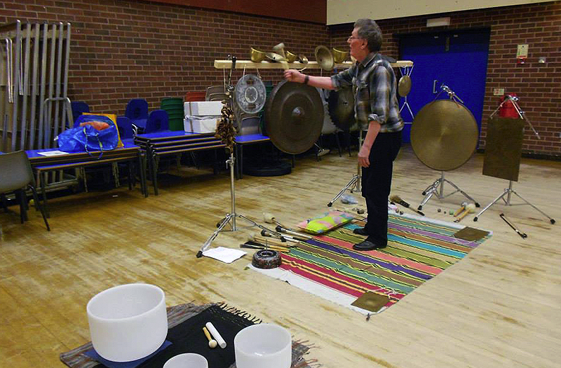 Sound Bath with Walt Shaw